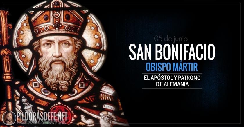 san bonifacio obispo martir apostol y patrono de alemania