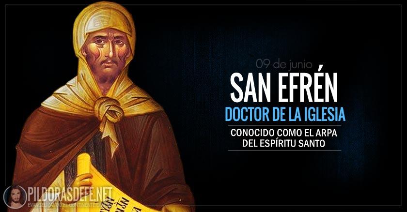 san efren doctor de la iglesia el arpa del espiritu santo