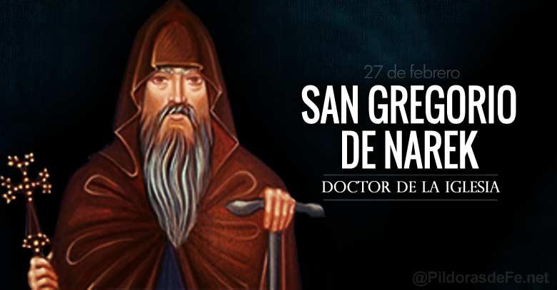 san gregorio de narek doctor de la iglesia