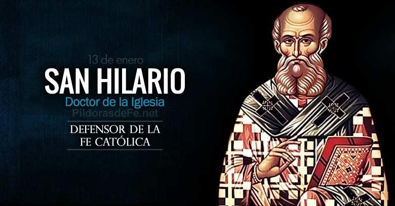 san hilario obispo defensor de la fe catolica