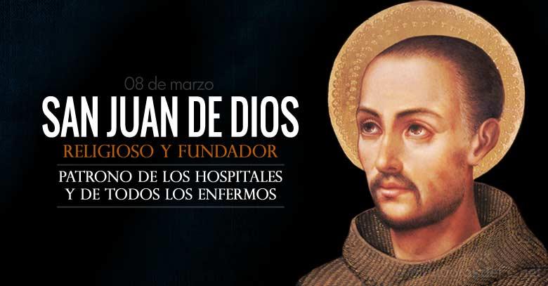 san juan de dios religioso fundador patrono de los hospitales y enfermos
