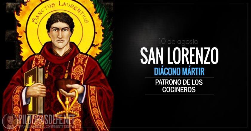 san lorenzo diacono martir patrono de los cocineros
