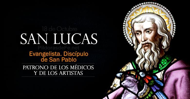 san lucas evangelista patrono de medicos y artistas discipulo de san pablo
