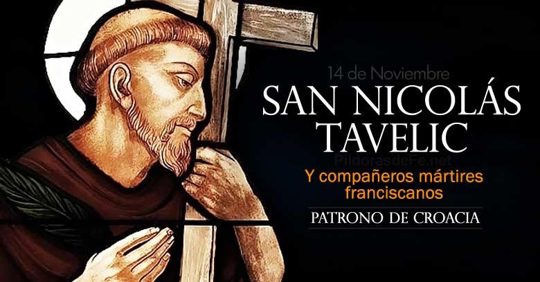 san nicolas tavelic companeros martires franciscanos patrono de croacia