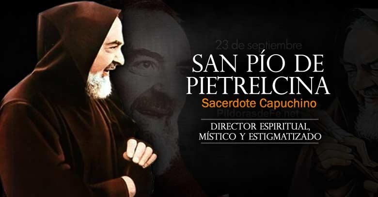 San Pío De Pietrelcina Sacerdote Capuchino Místico Y
