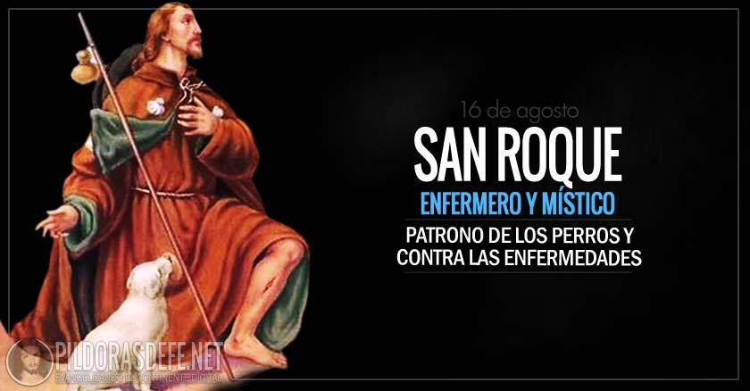 San Roque. Enfermero. Patrono contra las enfermedades y pestes