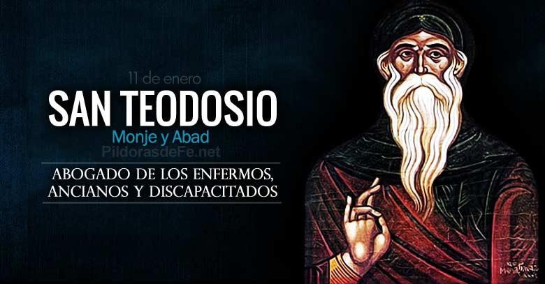 san teodosio monje y abad abogado de los enfermos ancianos y discapacitados
