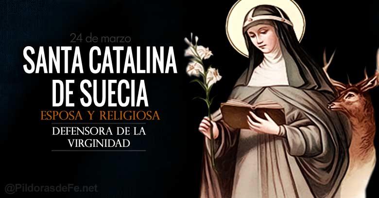 santa catalina de suecia esposa religiosa defensora de la virginidad