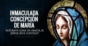 inmaculada concepcion de maria solemnidad
