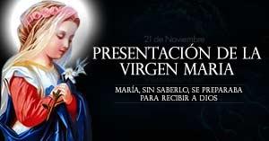 Resultado de imagen para PRESENTACION DE LA VIRGEN MARIA
