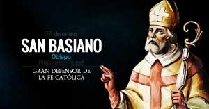 san basiano obispo defensor de la fe catolica