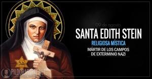 Santa Edith Stein. Mística y mártir del régimen nazi. Patrona de Europa