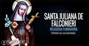 santa juliana de falconieri religiosa fundadora patrona de los enfermos