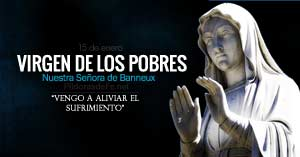 virgen de los pobres nuestra senora de banneux alivio del sufrimiento