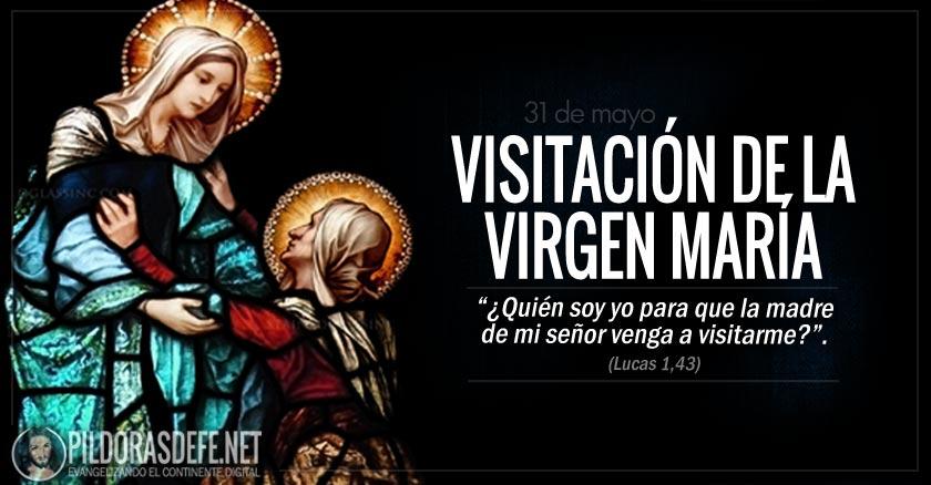 visitacion de la virgen maria fiesta