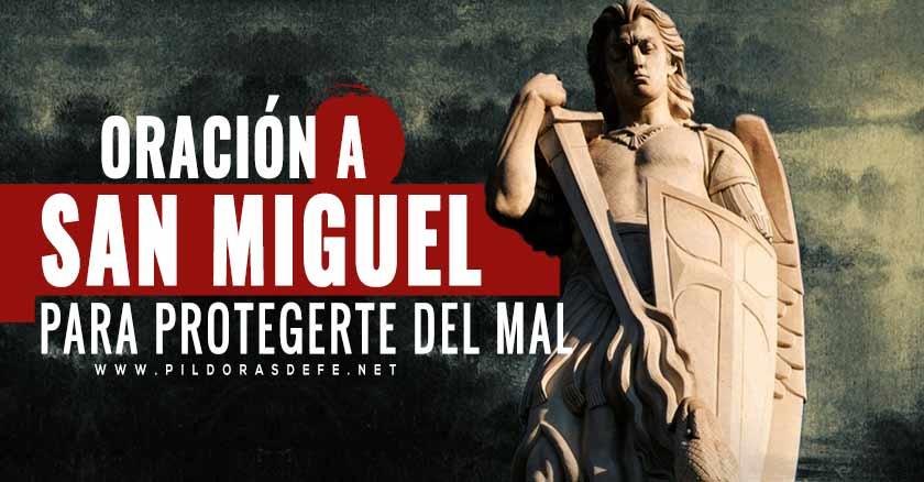 oracion a san miguel arcangel para protegerte del mal san miguel estatua