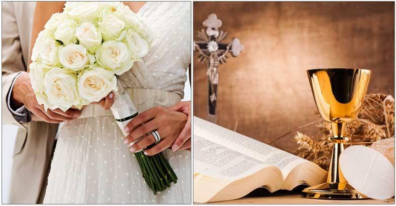 esposos matrimonio santa misa eucaristia relacion