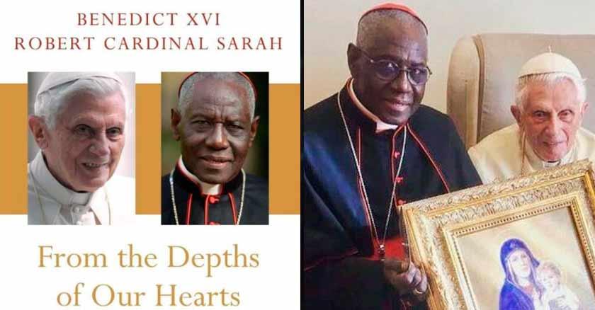 Resultado de imagen de benedicto xvi y cardenal sarah