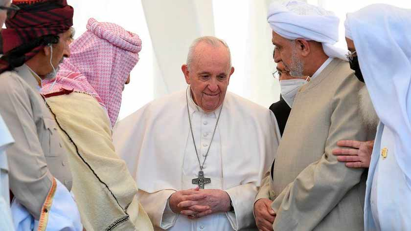 papa francisco camino paz no tener enemigos irak