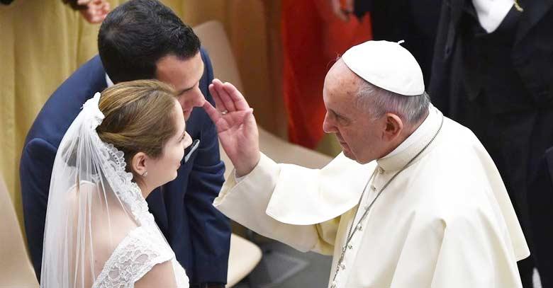 Bendiciones Para Matrimonio Biblia : Papa francisco el matrimonio es para siempre si no lo
