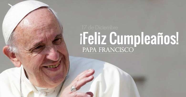 papa francisco feliz cumpleanos