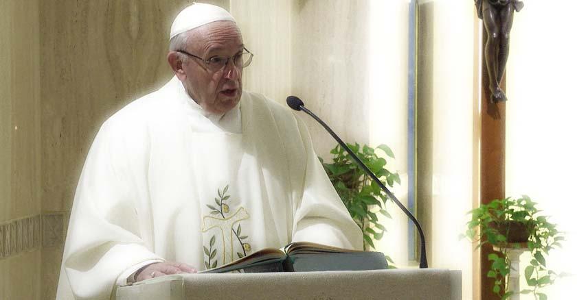 papa francisco homilia desde casa desanta marta