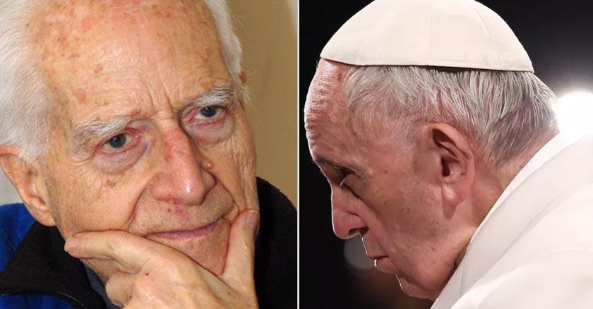 papa francisco padre carlos aldunate sacerdote jesuita exorcista director espiritual