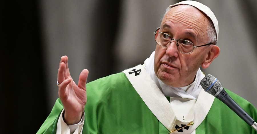 papa francisco pregunta embestidura verde