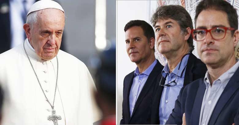 papa francisco sobrevivientes chilenos de abusos sexuales carlos cruz hamilton