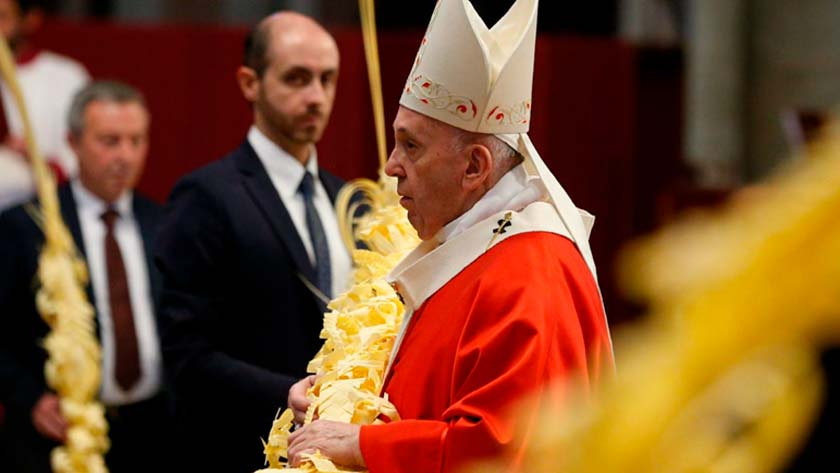 pope francis celebrations easter holy week