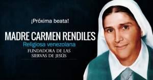 madre carmen rendiles religiosa venezolana beata