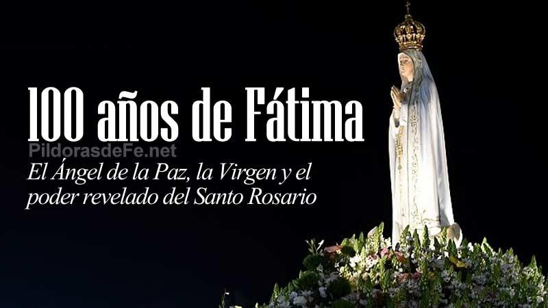 virgen de fatima aparicion angel poder santo rosario