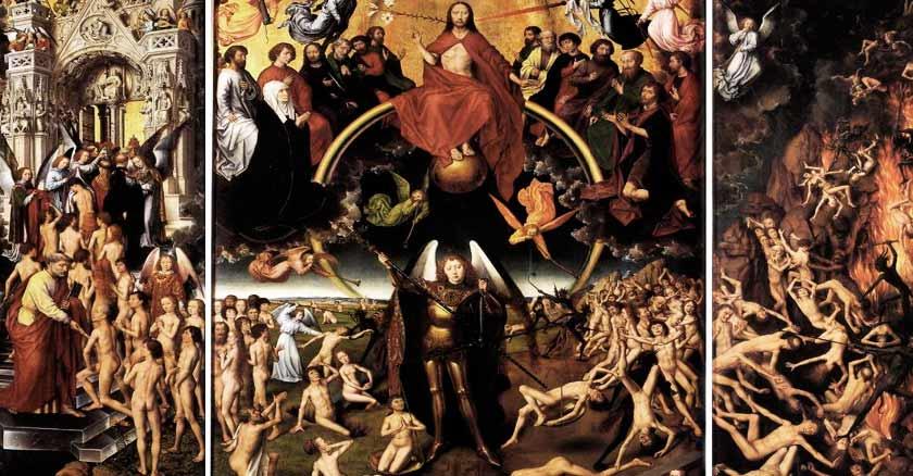 almas del purgatorio cuadro pintura oracion por las almas del purgatorio