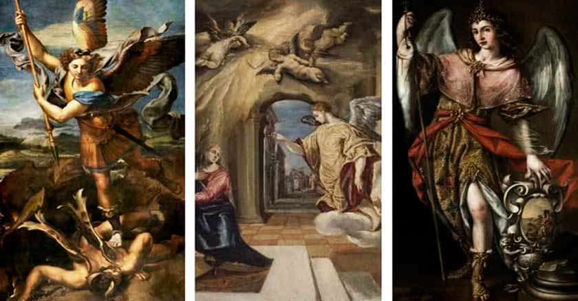 arcangel san miguel san gabriel san rafael novena a los arcangeles