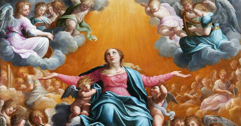 asuncion de la santisima virgen maria al cielo