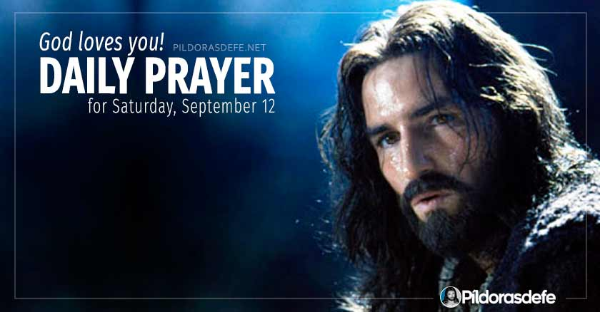 daily prayer for saturday september  healing prayers