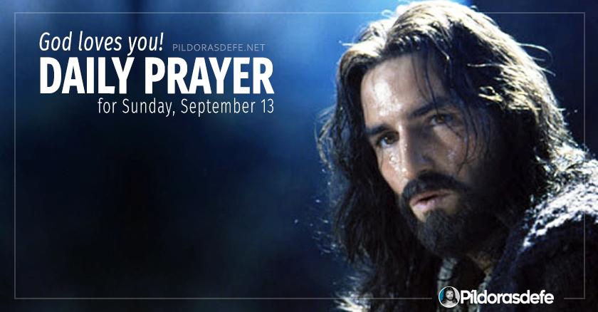 daily prayer for sunday september  healing prayers