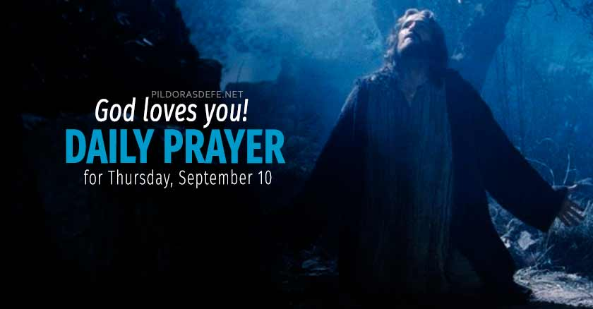 daily prayer for thursday september   healing prayers