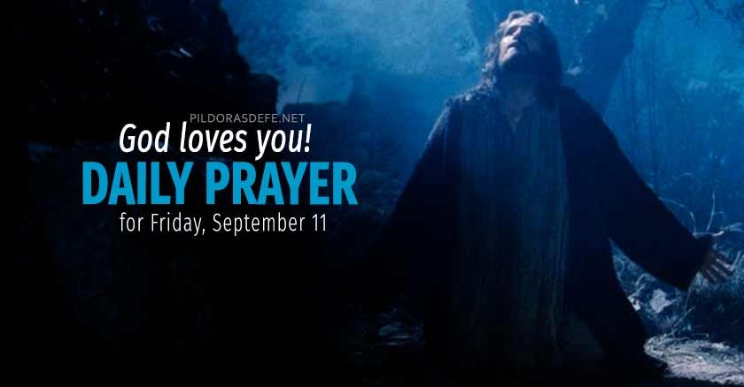 daily prayer friday september   healing prayers