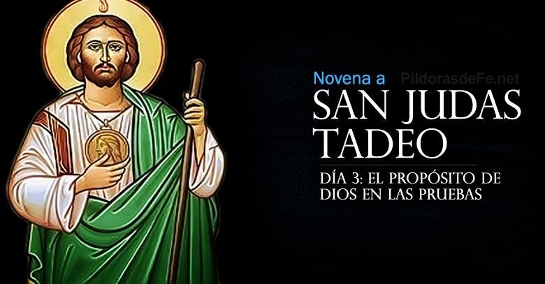 novena a san judas tadeo dia  proposito de dios en las pruebas