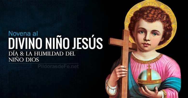 novena al divino nino jesus dia  humildad del nino dios