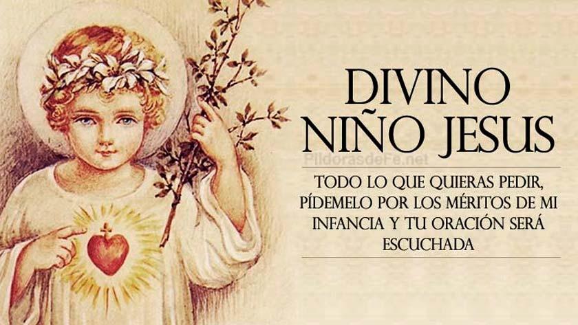 novena al divino nino jesus oracion novena de la confianza