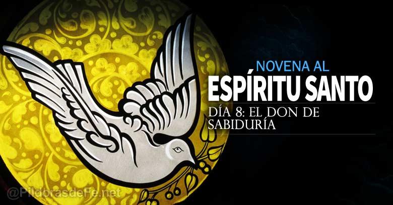 novena al espiritu santo uncion el don de sabiduria dia