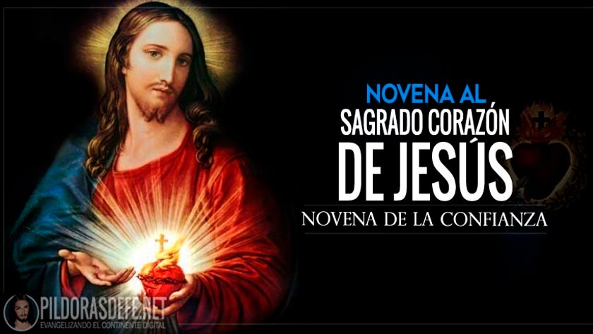 novena al sagrado corazon de jesus confianza padre pio