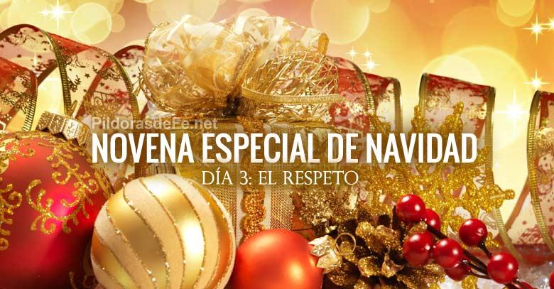novena especial de navidad dia  el respeto