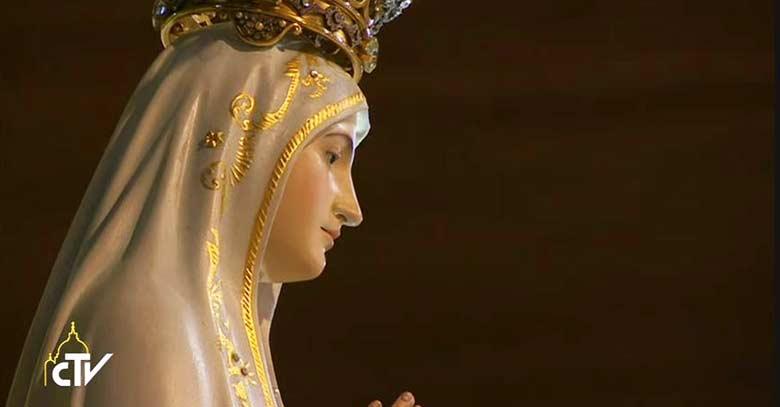 nuestra senora de fatima virgen estatua santuario