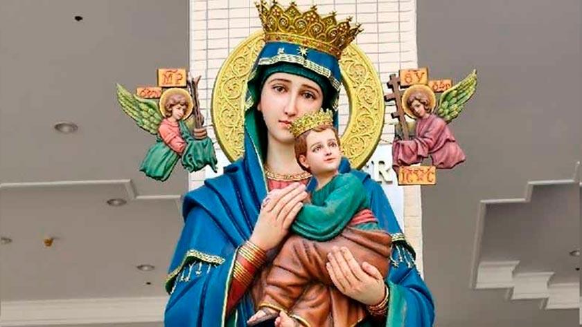 oracion a la virgen del perpetuo socorro para proteccion de los hijos
