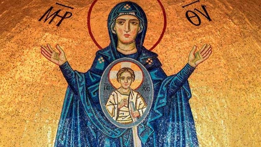 oracion a maria madre de la iglesia por el coronavirus covid  proteccion