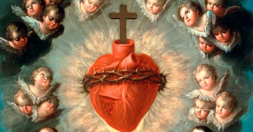 Oracion Al Sagrado Corazon De Jesus La Fe Catolica