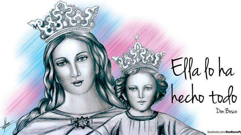 oracion de consagracion de hogar virgen maria auxiliadora de los cristianos auxilio